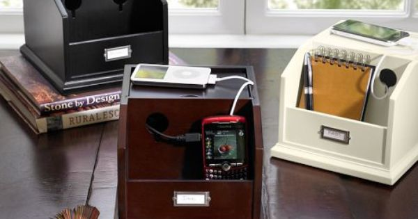 small recharge station | Woodworking class projects | Pinterest