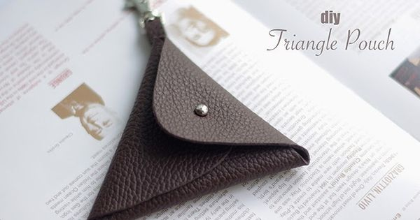 how to make a leather pouch