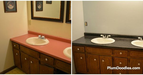 Rustoleum Countertop Paint Application : Countertop Transformations Makeover Awesome, Videos and Countertops