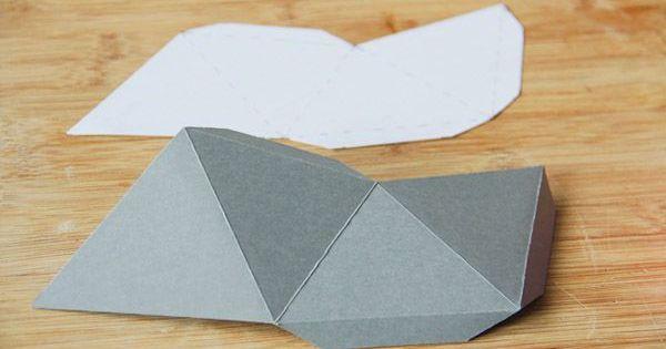 diy une d coration murale en papier t te d 39 ange peintures murales papier origami et origami. Black Bedroom Furniture Sets. Home Design Ideas