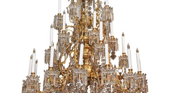Magnificent Antique French Baccarat Crystal Chandelier