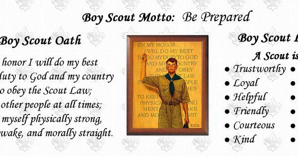 Oath and Law | Webelos | Pinterest | Boy scout oath
