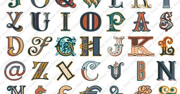 Cricut fontopia monograms digital in cricut craft room for Cricut craft room fonts