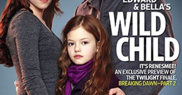 Breaking Dawn ~ Edward Cullen and Bella Swan with Wild Child on
