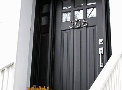 Love the door numbers. People always miss mine. AdoreYourDoors