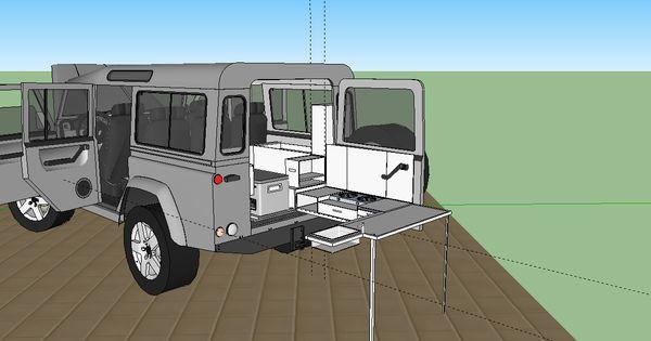 Defender 110 kitchen & storage - Australian Land Rover