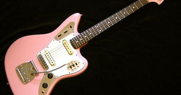vintage 1965 fender jaguar shell pink pop queen needs pinterest fender jaguar guitars. Black Bedroom Furniture Sets. Home Design Ideas