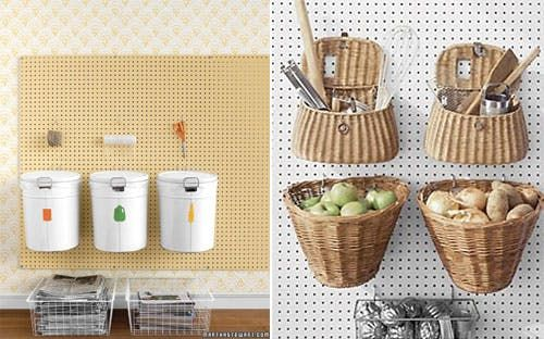 7 Places To Use Pegboard From Martha Stewart Apartment Therapy Peg Board Kitchen Pantry Inspiration