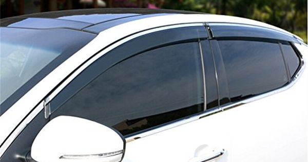 Vesul Side Window Visor Rain Sun Deflectors Guard Vent Shade For Kia Optima 2016 Check This Awesome Product By Going To The Link Kia Optima Side Window Kia