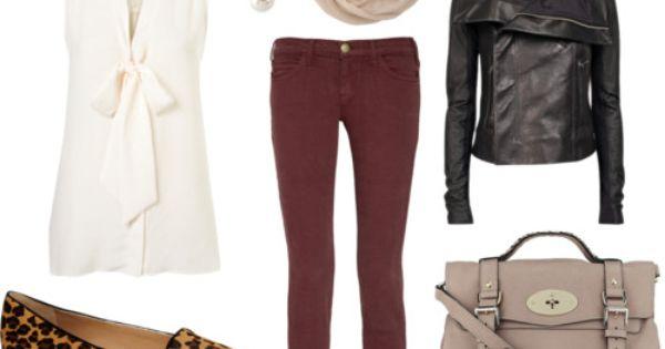 Fall running errands outfit.