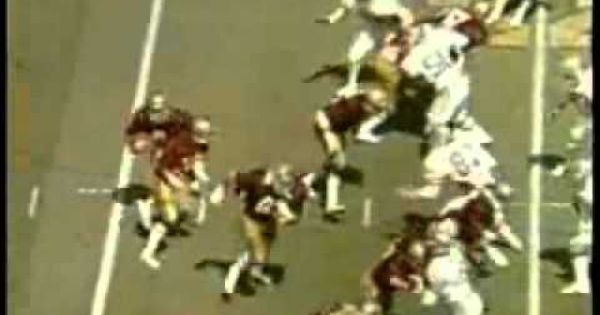 We Are Only 9 Days Away From Gopher Football Tony Dungy Wore 9 At The U As Seen Here In Some Classic Highlights Tony Dungy Gopher Football Gopher