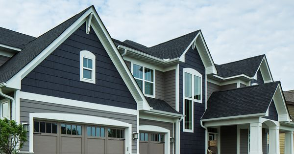 Clever Combination Of Lp Smartside Lap Siding And Cedar