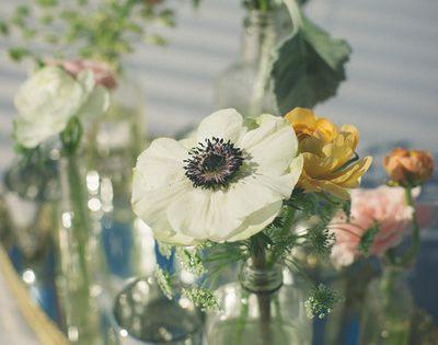 DIY bouquet - Florist: Janet Flowers Wedding and Event Designs
