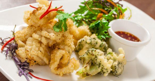 how to make crispy salt and pepper calamari