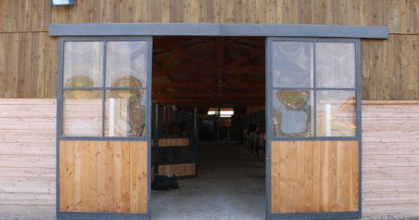 Portail De Grange Coulissant Porte Grange Portes De Grange Coulissantes Porte Garage Bois