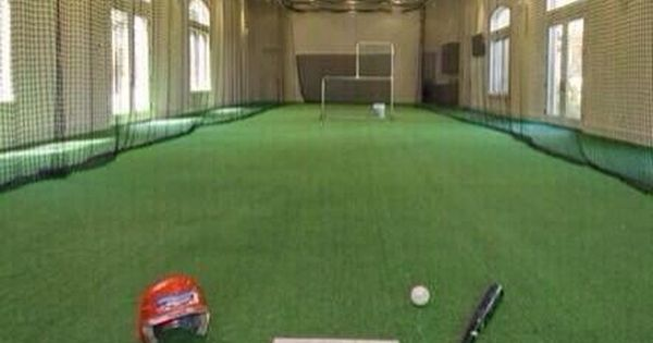indoor batting cage baseball my dream house pinterest need to