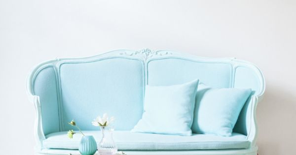 Baby blue, Blue sofas and Sofas on Pinterest