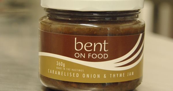 Our new product, Bent on Food Caramelised Onion and Thyme Jam   Bent ...
