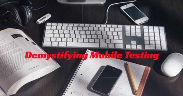testdesign #testing Demystifying Mobile Testing Critical Thinking - mobile testing resume