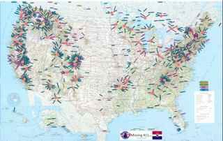 North America Cluster Map   Map, North america, Mystery of ...