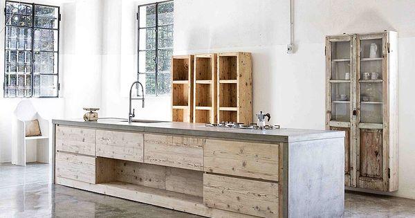 Inspiration Industriele Keuken : Moderne keuken u vorm gehoor geven aan uw huis