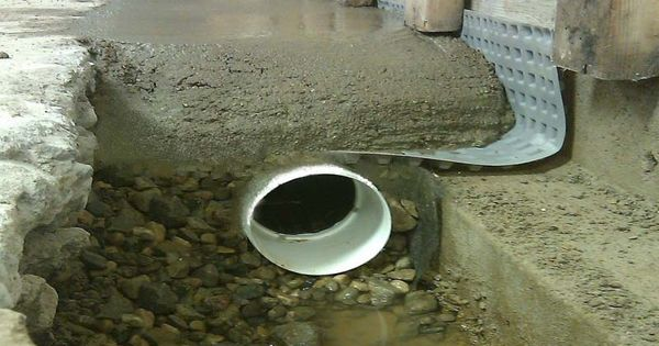 basement waterproofing methods drain system for basement