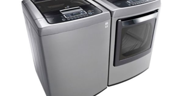 Lg 4 5 Cu Ft High Efficiency Top Load Washer With Front