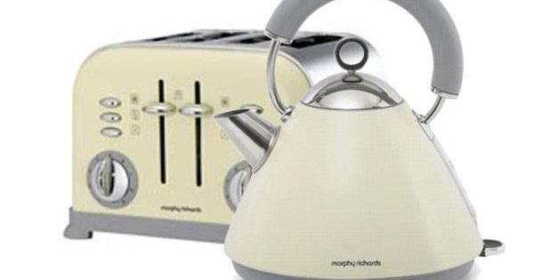 Cream Morphy Richards Kettle Amp Toaster Kitchen