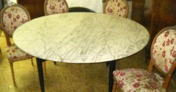 Mesa de marmol de churba estilo americano comedor living for Comedor vintage chile