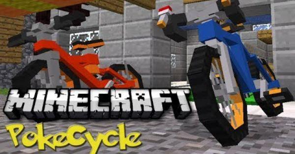 Minecraft Pokemon Bikes Pokecycles Mod Showcase Minecraft Minecraft Mods Pokemon