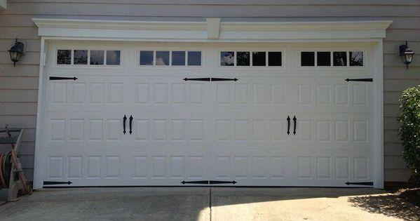 This Unique Colonial Garage Door Is Unquestionably An Exceptional Design Procedure Colonialgaragedoor Carriage House Garage Carriage Doors Garage Door Panels