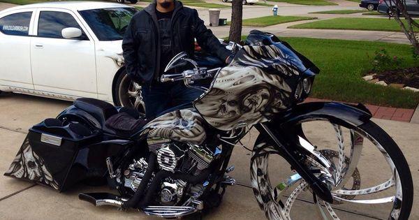 Custom Bagger Motorcycle Paint Jobs Images 6 | Cool Stuff | Pinterest | Custom baggers, Bagger ...