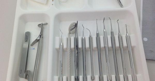 Basic tray set up | Dental assistant | Pinterest | Trays ...