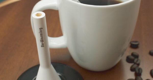 gift idea for the coffee-lover: Re-heats drinks