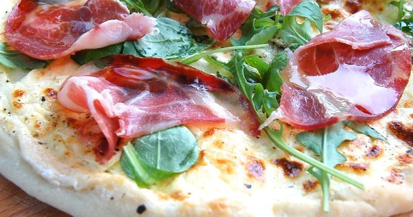 pizza blanche la coppa cuisine thermomix