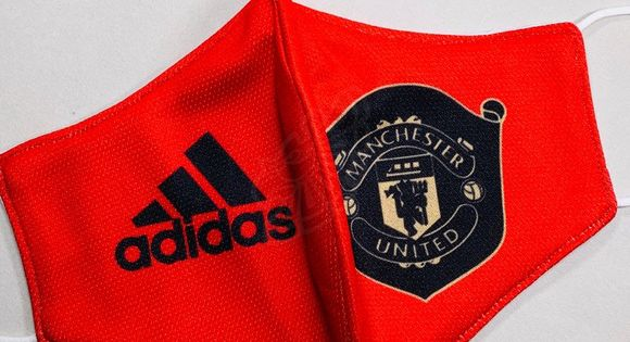 Fashion Manchester United Face Mask New Soccer Manchester United F C Mufc Adidas Home Kit Brand New Custom Made Face M In 2020 Soccer Manchester United Fashion