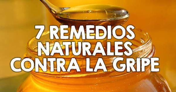 7 remedios naturales contra la gripe http