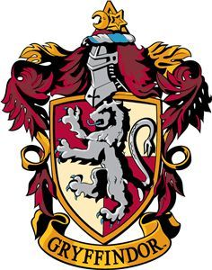 This Is The Logo Off Gryffindor Thats The Department Off Harry Hermione And Ron Gryffindor W Harry Potter Crest Harry Potter Banner Harry Potter Printables