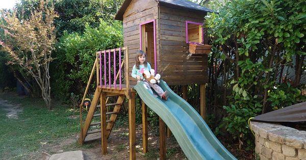 Construire une maisonnette de jardin pour enfant plan tapes et co t cabanes de jardin - Cabane pour jardin orleans ...