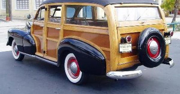 1948 Chevrolet Woody Classic Chevy 39 S Pinterest