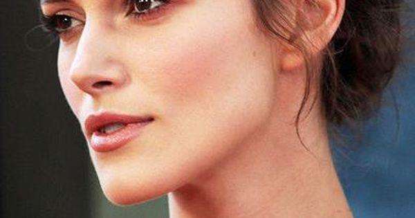 Keira Knightley ♥ She has such a pretty neck...and ... Keira Knightley