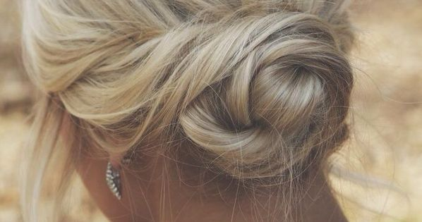 #bun hair style hairstyle updo