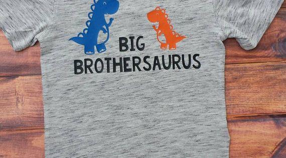 Brothersaurus Shirt Brother Shirt Big Brother Shirt
