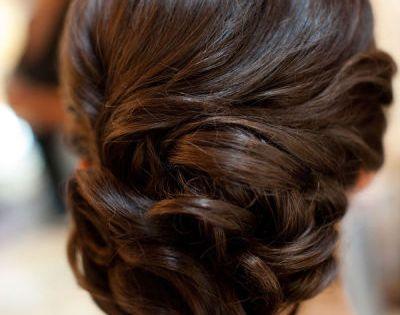 Pretty up do Wedding hair?