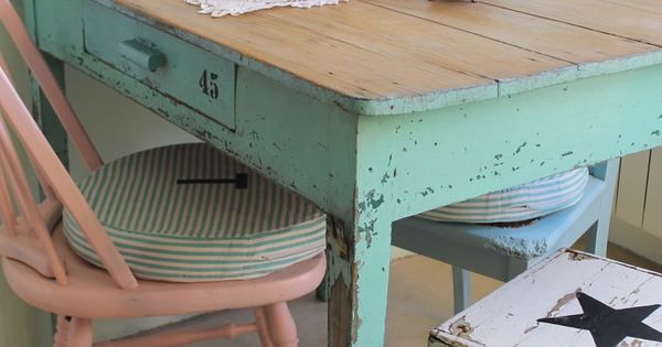 Are Chalk Painted Kitchen Tables Durable