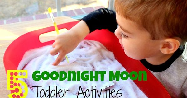 A collection of Goodnight Moon activities for toddlers. Includes sensory, fine motor,