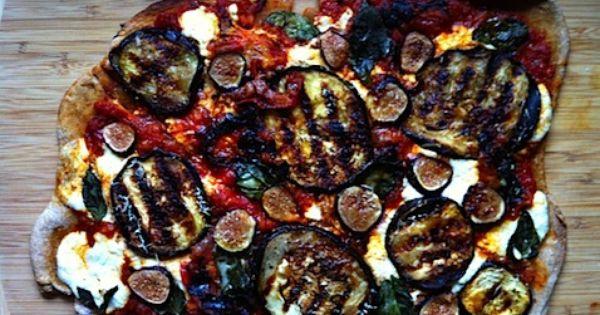 eggplant fig ricotta pizza | Eat | Pinterest | Figs, Eggplants and ...
