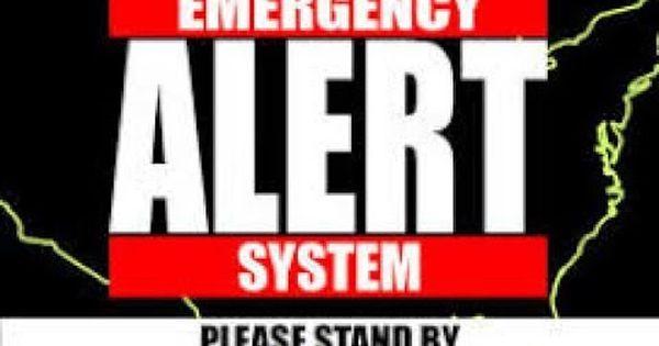 Emergency Broadcast Prank On Friends Emergency Alert System Emergency System