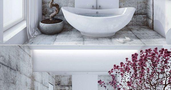 Bagno in stile giapponese 02 interni pinterest - Bagno stile giapponese ...
