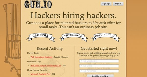 Hackers Hiring Hackers Start Up Get Started Fun Projects